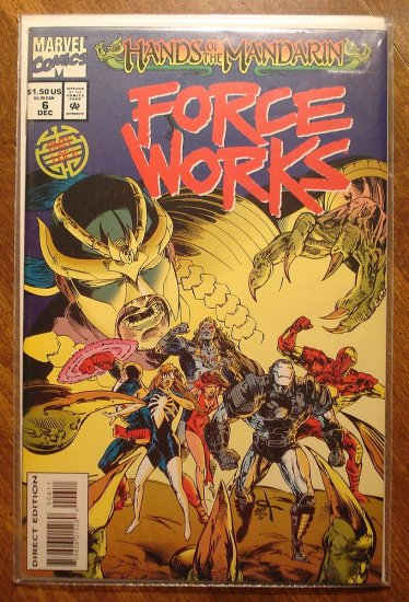 Force Works #6 comic book - Marvel Comics