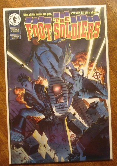 Foot Soldiers #1 comic book - Dark Horse Comics (footsoldiers)