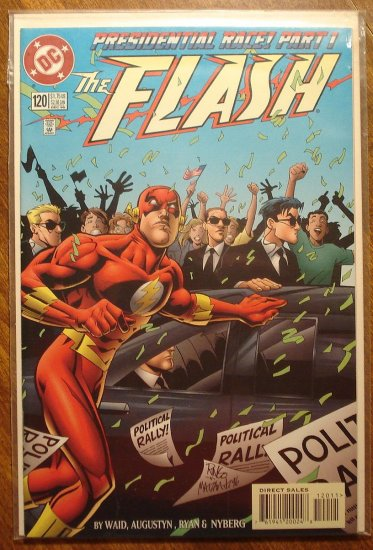 DC Comics - The Flash #120 comic book (1980's series)