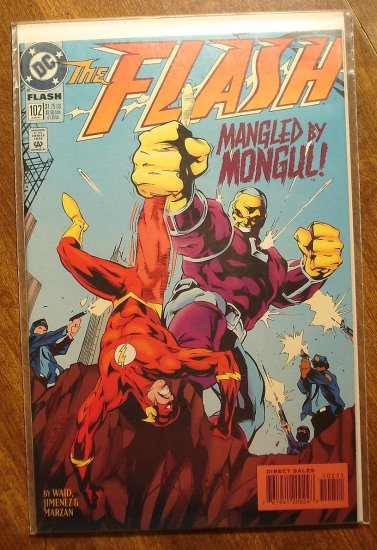 DC Comics - The Flash #102 comic book (1980's series)