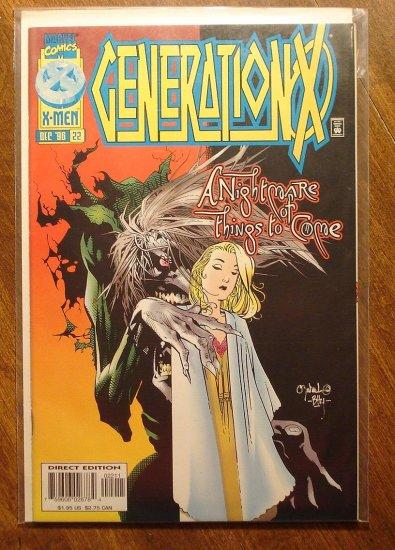 Generation X #22 comic book - Marvel comics