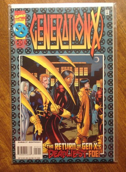 Generation X #12 comic book - Marvel comics