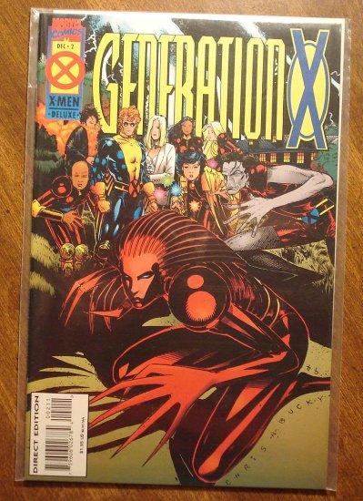 Generation X #2 comic book - Marvel comics
