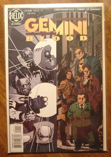 Gemini Blood #1 comic book - DC (Helix) Comics