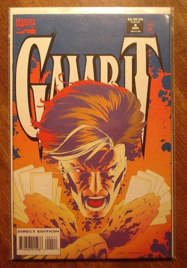 Gambit #4 (mini-series) comic book - Marvel comics
