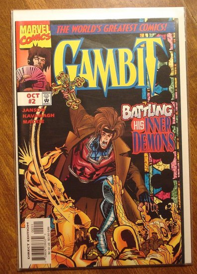 Gambit #2 (1997) comic book - Marvel comics