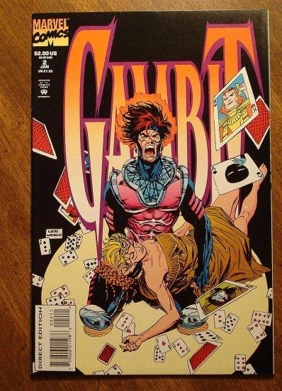 Gambit #2 (mini-series) comic book - Marvel comics