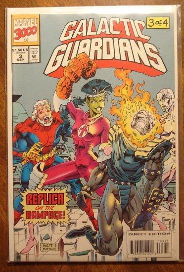 Galactic Guardians #3 comic book - Marvel comics