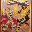 Galactic Guardians #4 comic book - Marvel comics