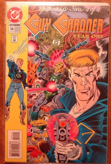 Guy Gardner #14 comic book - DC Comics - Green Lantern