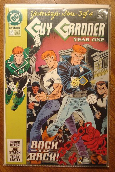 Guy Gardner #13 comic book - DC Comics - Green Lantern