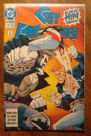 Guy Gardner #8 comic book - DC Comics - Green Lantern