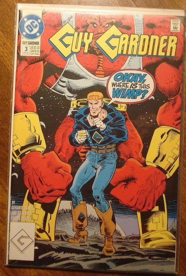Guy Gardner #3 comic book - DC Comics - Green Lantern