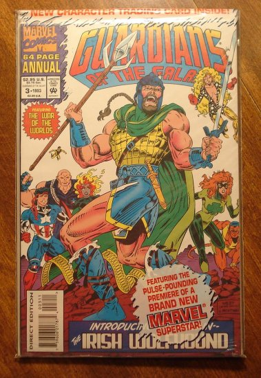 Guardians of the Galaxy Annual #3 comic book - Marvel comics