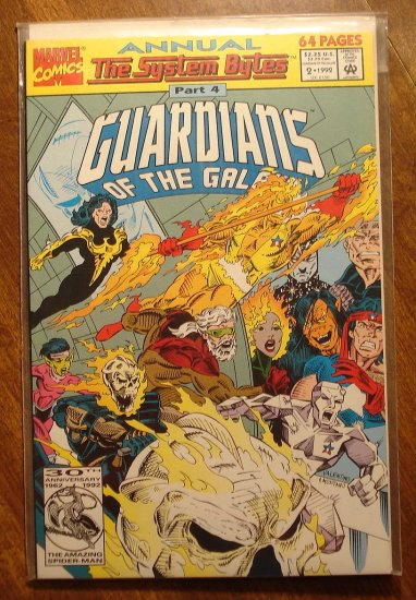 Guardians of the Galaxy Annual #2 comic book - Marvel comics
