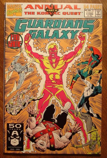 Guardians of the Galaxy Annual #1 comic book - Marvel comics