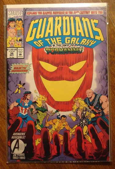 Guardians of the Galaxy #36 comic book - Marvel comics