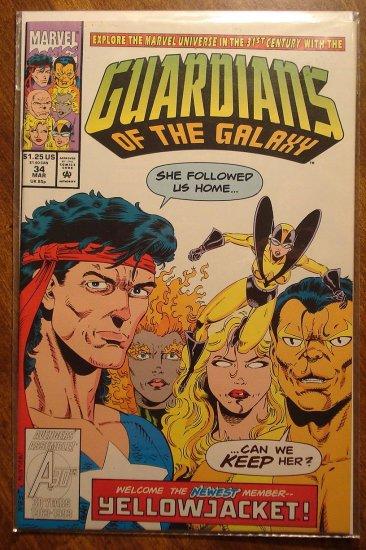 Guardians of the Galaxy #34 comic book - Marvel comics