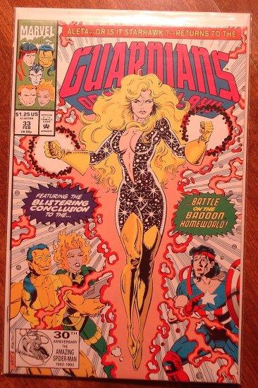 Guardians of the Galaxy #33 comic book - Marvel comics