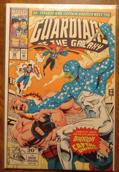 Guardians of the Galaxy #32 comic book - Marvel comics