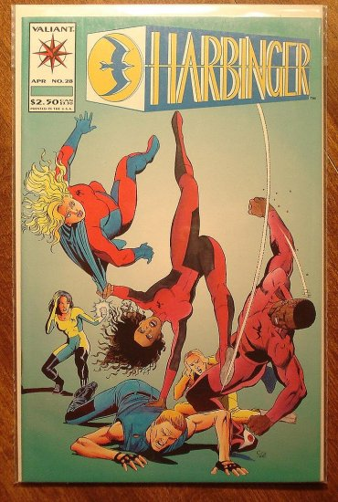 Harbinger #28 comic book - Valiant comics