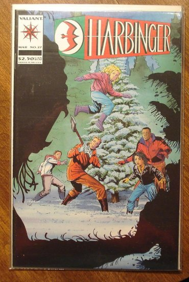 Harbinger #27 comic book - Valiant comics