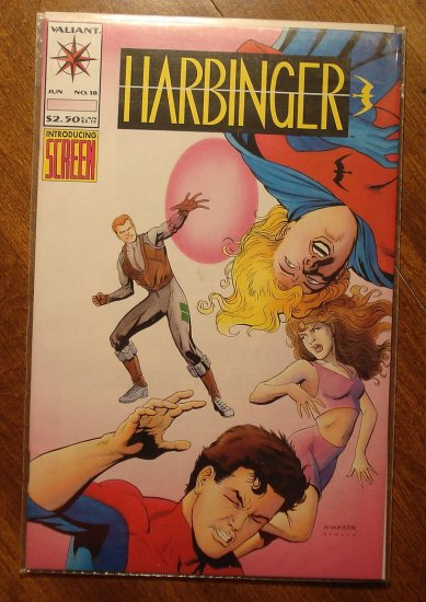 Harbinger #18 comic book - Valiant comics