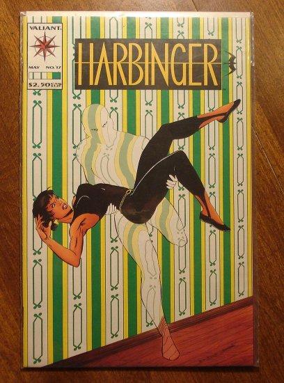 Harbinger #17 comic book - Valiant comics