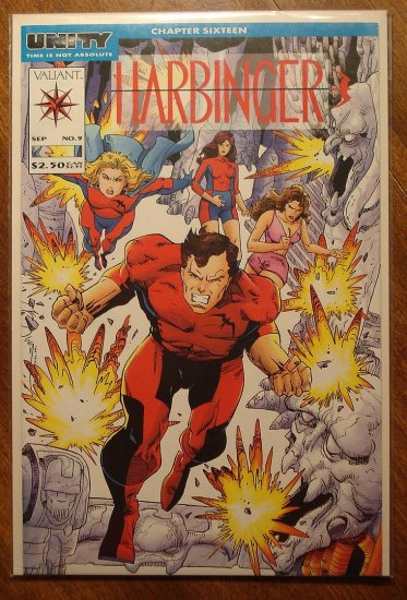 Harbinger #9 comic book - Valiant comics