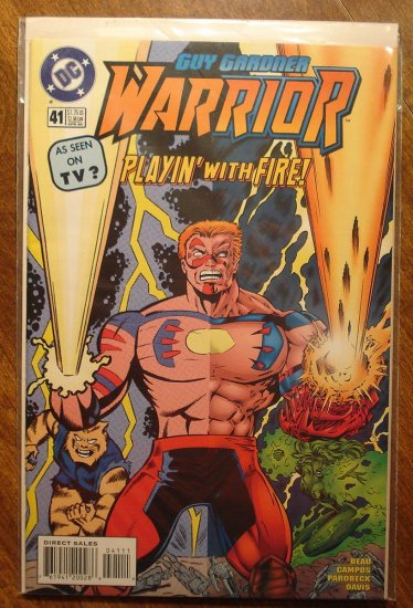 Guy Gardner Warrior #41 comic book - DC Comics - Green Lantern