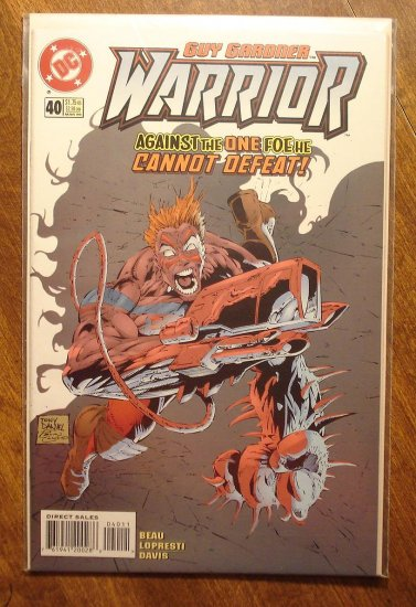 Guy Gardner Warrior #40 comic book - DC Comics - Green Lantern