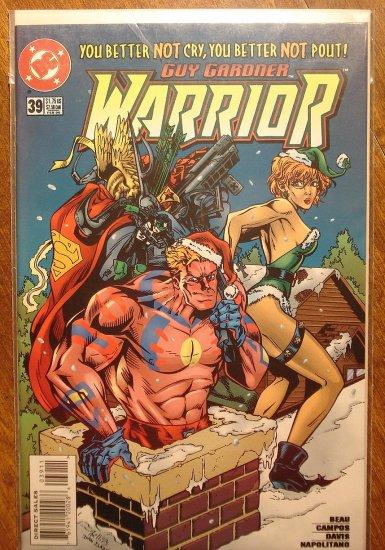 Guy Gardner Warrior #39 comic book - DC Comics - Green Lantern