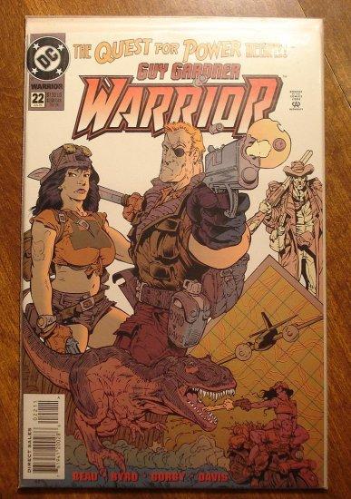 Guy Gardner Warrior #22 comic book - DC Comics - Green Lantern
