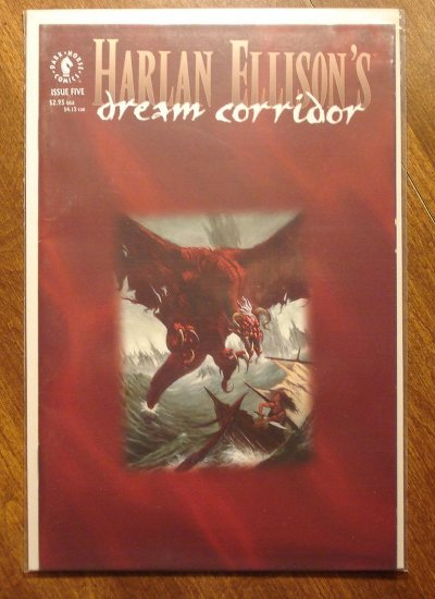 Harlan Ellison's Dream Corridor #5 comic book - Dark Horse comics