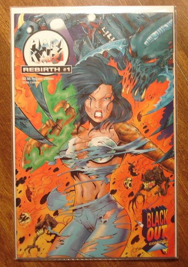 Hari Kari: Rebirth #1 comic book - Black Out comics