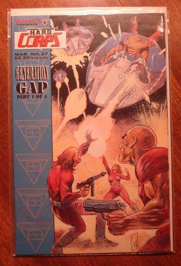 The Hard Corps #27 comic book - Valiant comics