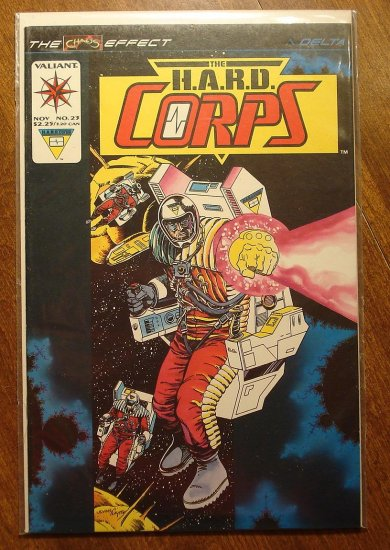 The Hard Corps #23 comic book - Valiant comics
