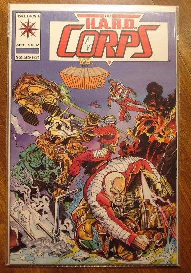 The Hard Corps #17 comic book - Valiant comics