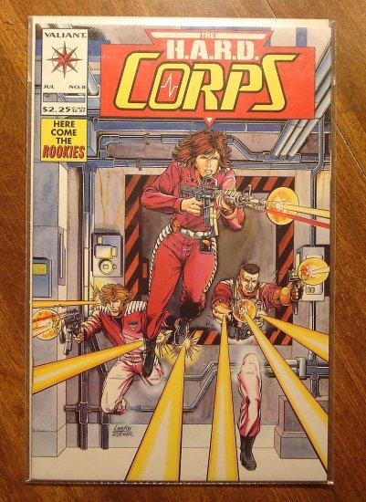 The Hard Corps #8 comic book - Valiant comics