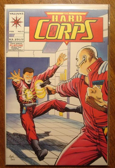 The Hard Corps #3 comic book - Valiant comics