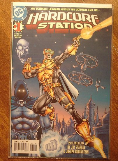 Hardcore Station #1 comic book - DC comics