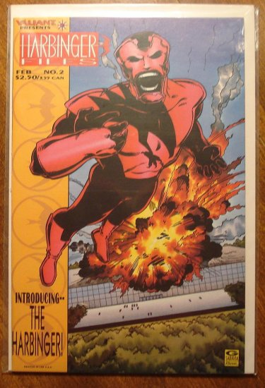 Harbinger Files #2 comic book - Valiant comics