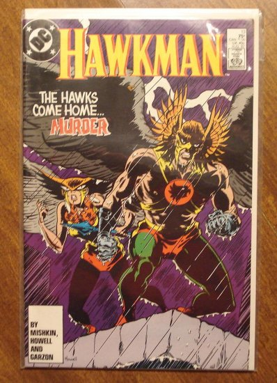 Hawkman #13 (1980's) comic book - DC Comics