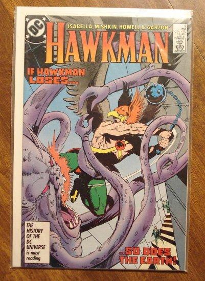 Hawkman #9 (1980's) comic book - DC Comics