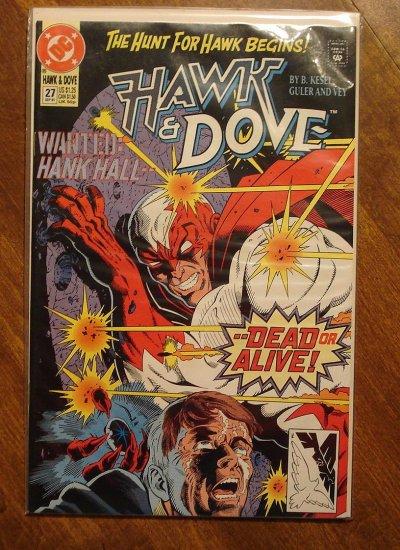 Hawk & Dove #27 (1980's series) comic book - DC Comics
