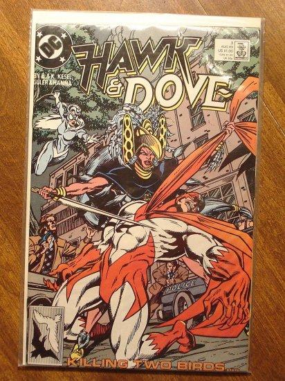 Hawk & Dove #3 (1980's series) comic book - DC Comics