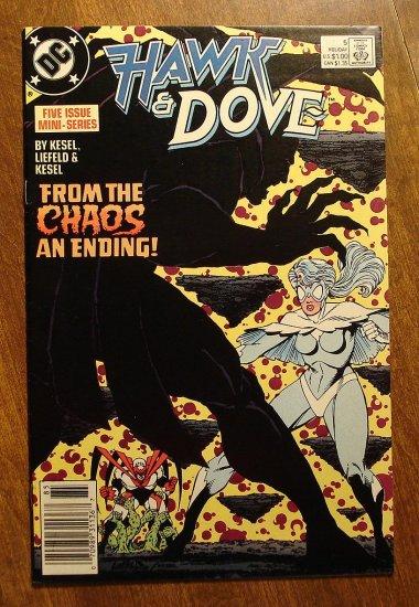 Hawk & Dove #5 (1980's mini-series) comic book - DC Comics