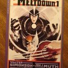 Havok & Wolverine: Meltdown #1 deluxe format comic book - Marvel Comics