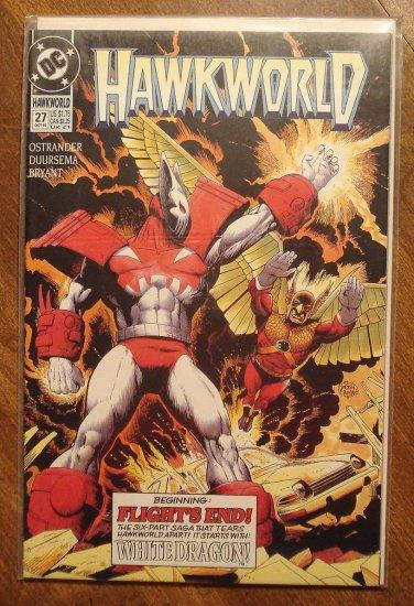 Hawkworld #27 comic book - DC Comics