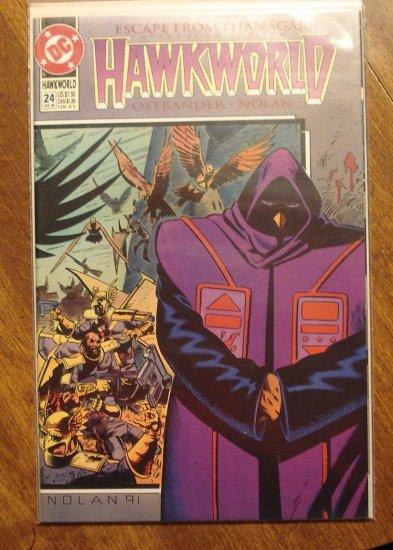 Hawkworld #24 comic book - DC Comics